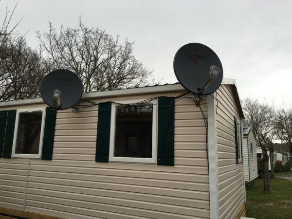 Satelliet buitenland roan internet tv wifi