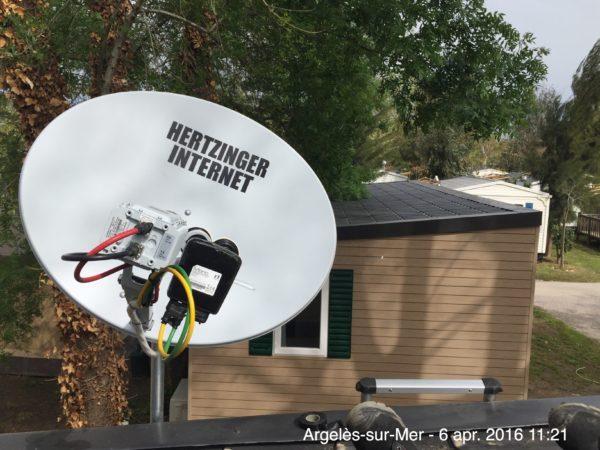 Televes internet tv buitenland vakantie wifi camping