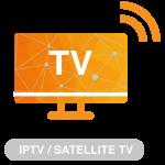 IP tv en satelliet tv