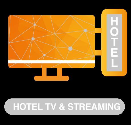 Hotel TV en streaming